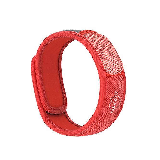 Para'Kito essential Oil Diffusion Red Wristband