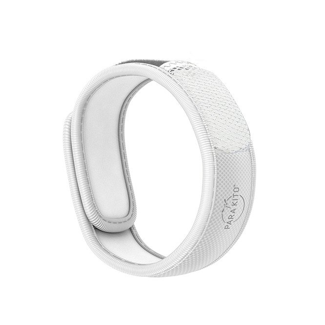 Para'Kito essential Oil Diffusion White Wristband