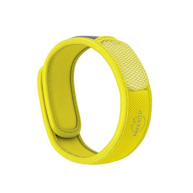 Para'Kito essential Oil Diffusion Yellow Wristband