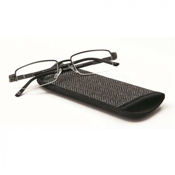 Magnivision Mens Reading Glasses- Peter 1.00