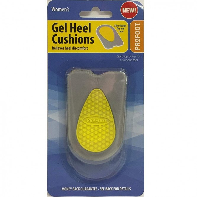 Profoot gel heel cushions women pr pack