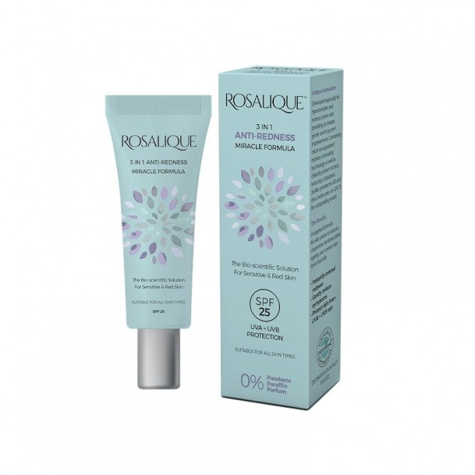 Rosalique 3 in 1 Anti-redness Miracle Formula 30ml