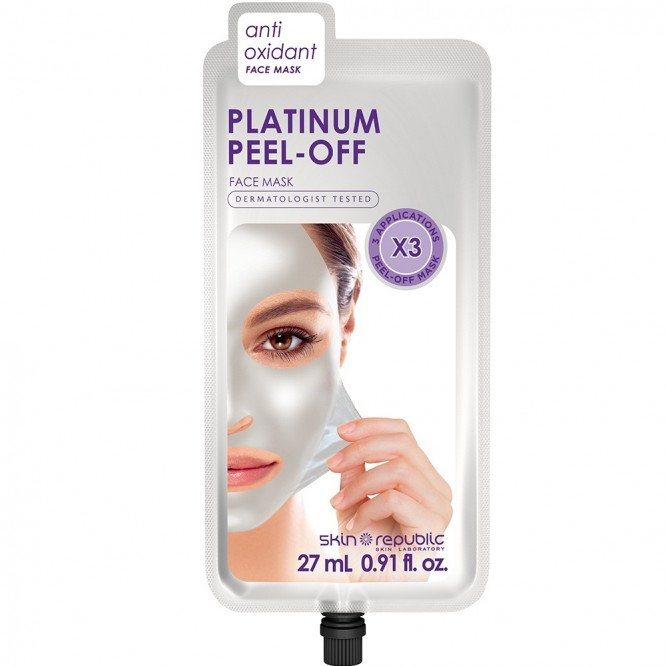 Skin Republic Platinum Diamond Powder Peel Off Face Mask