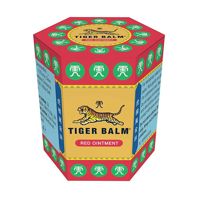 Tiger balm extra strength red 30g