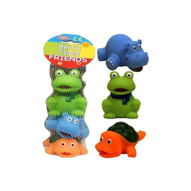 PADGETT BATH TOYS-BATH  TIME FRIENDS 3PCS