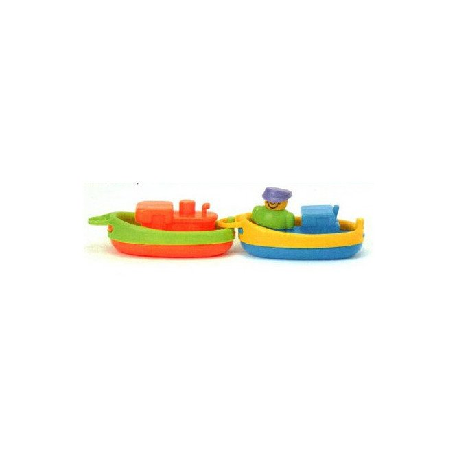 PADGETT BATH TOYS - TUGBOATS SET