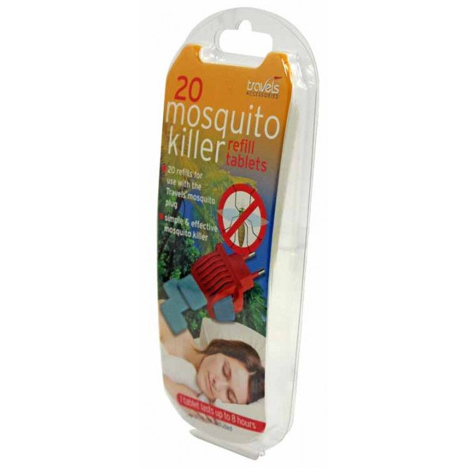 TRAVELS  MOSQUITO PLUG REFILLS