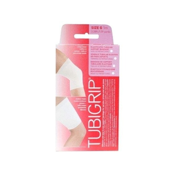Tubigrip tubular support bandages natural colour size G 12cm x 1m