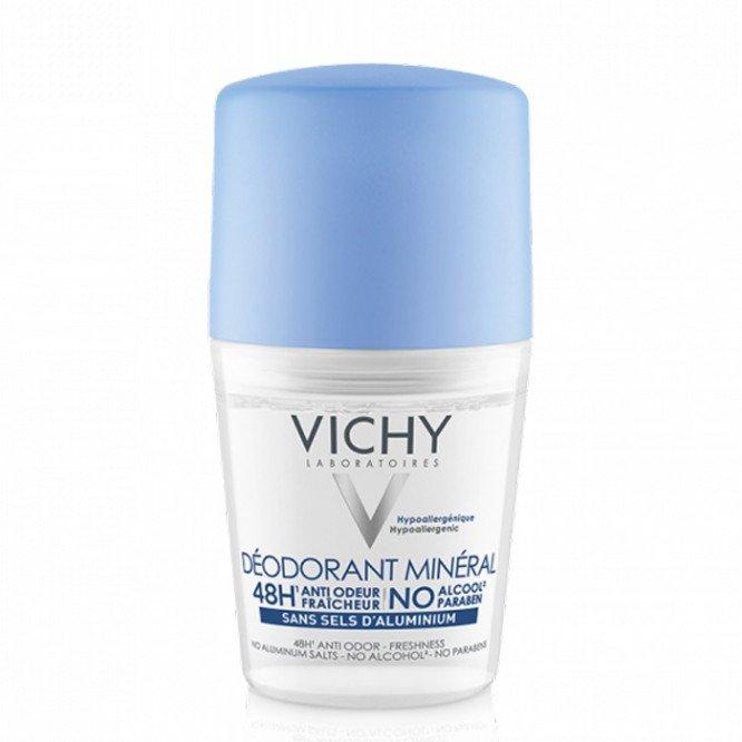 Vichy 48H Mineral Deodorant Roll-On 50ml