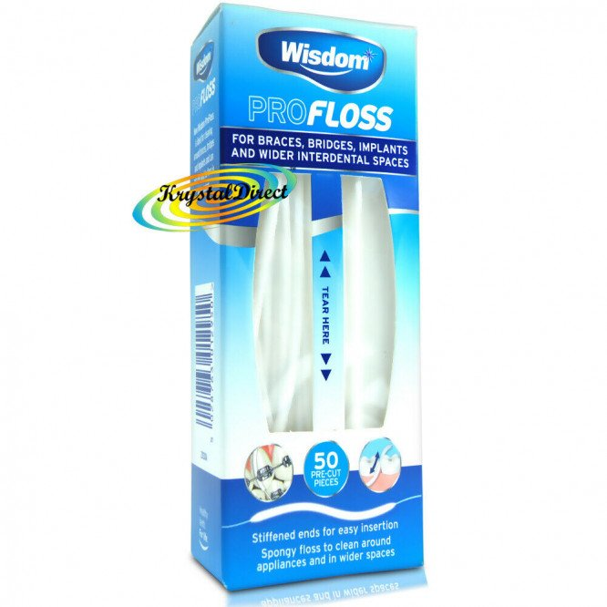 WISDOM interdental products profloss strands 50