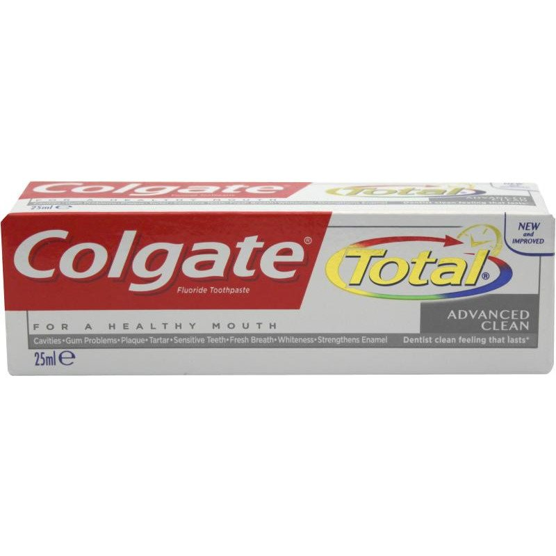 Colgate Toothpaste Total Advanced Clean Travel Size 25ml