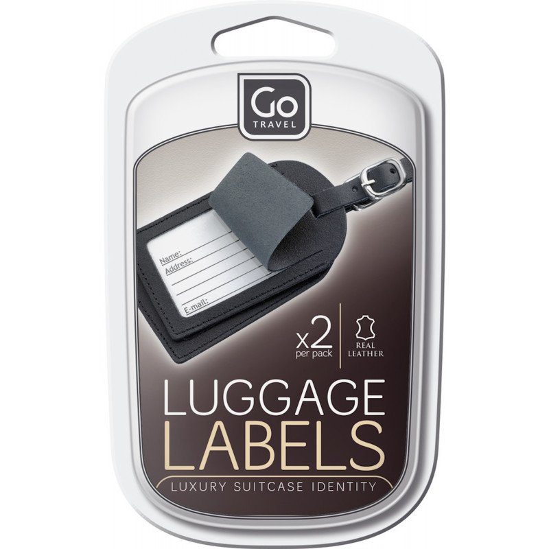 Go Travel Labels For Luggage