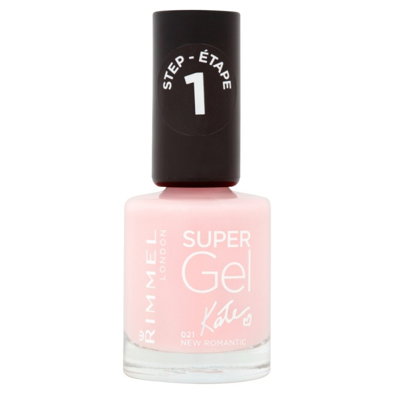 Rimmel nail care nail polish super gel new romantic