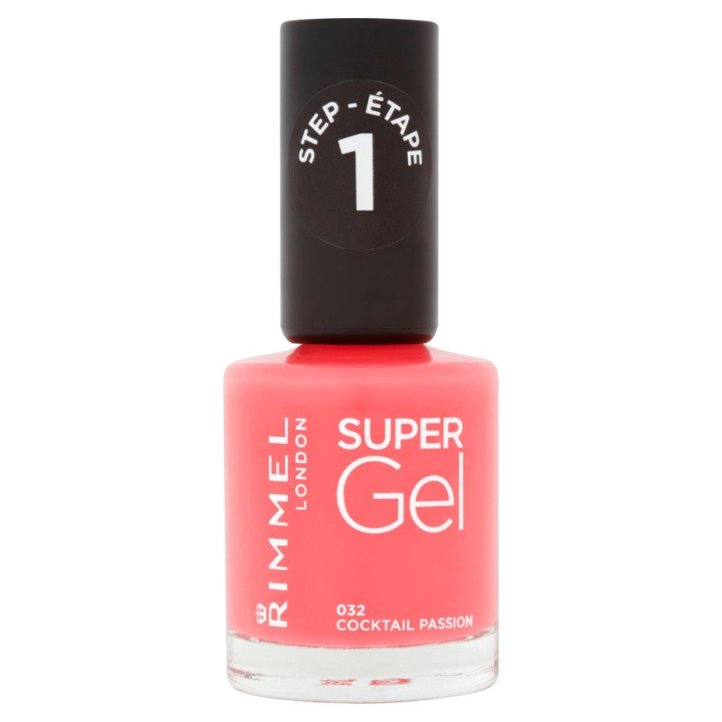 Rimmel nail care nail polish super gel cocktail passion