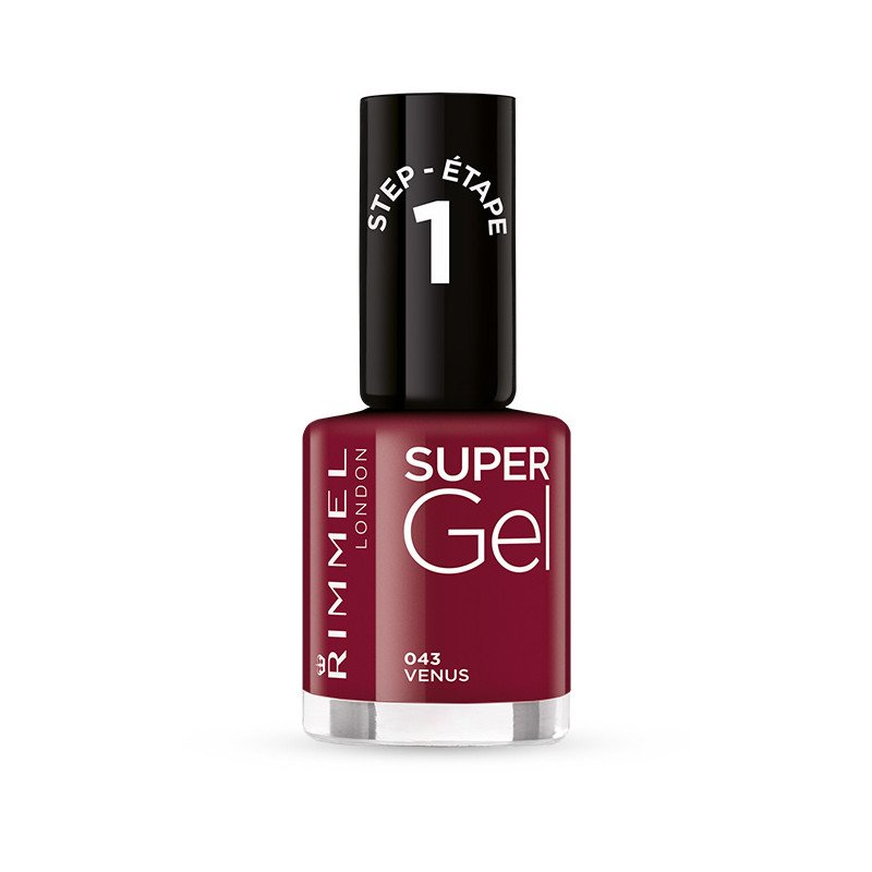Rimmel nail care nail polish super gel venus