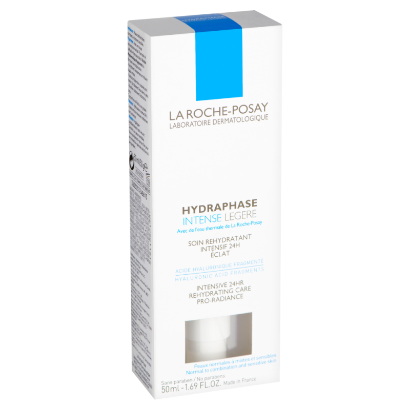 La Roche Possay HYDRAPHASE INTENSE LIGHT 50ML