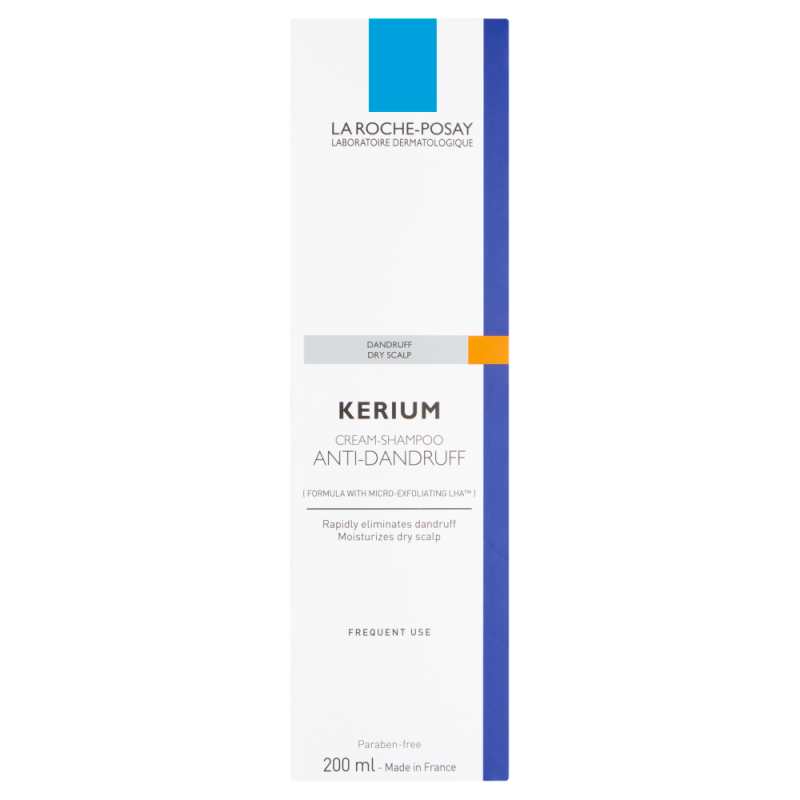 La Roche-Posay Kerium Anti-Dandruff Cream Shampoo 200ml