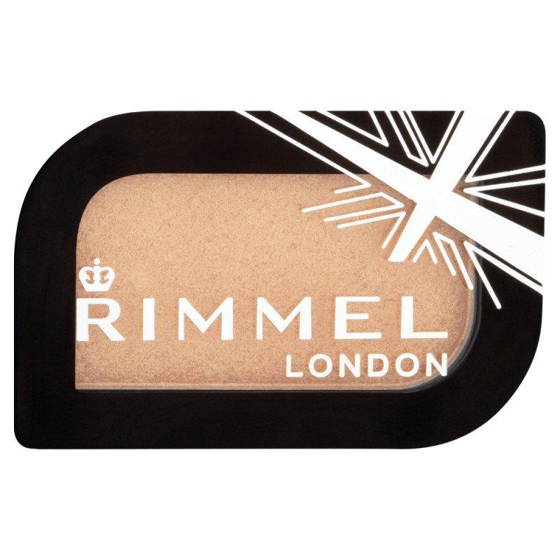 Rimmel eye make-up eyeshadow mono london magnif eyes gold record