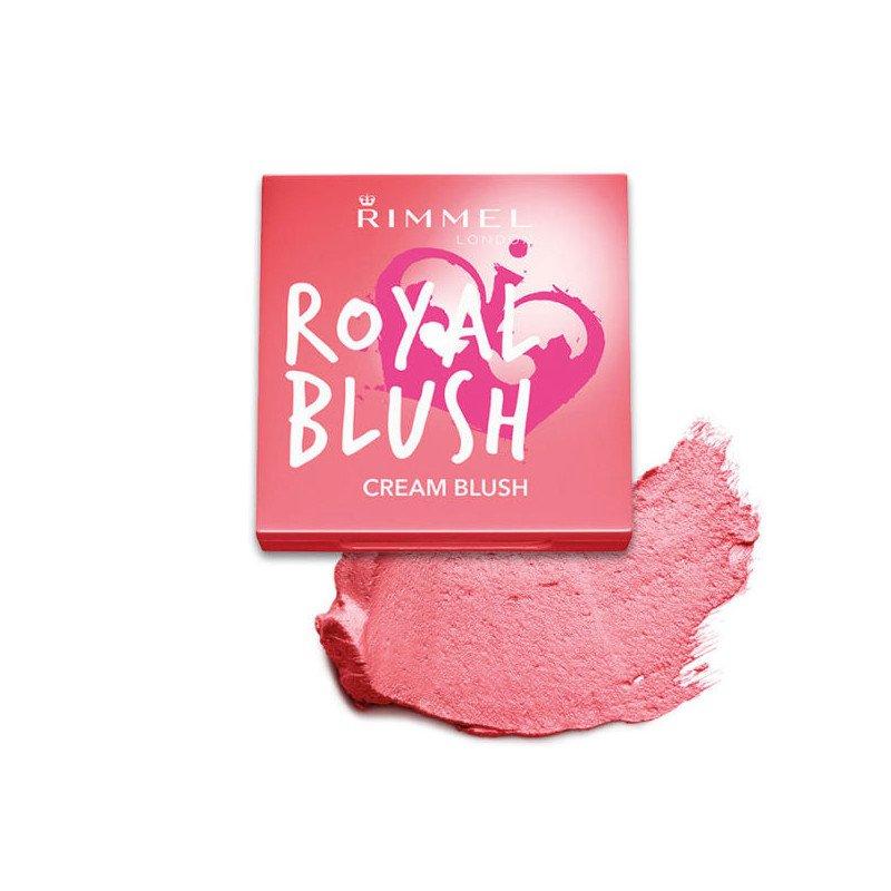 Rimmel face make-up blush royal cream shade 002