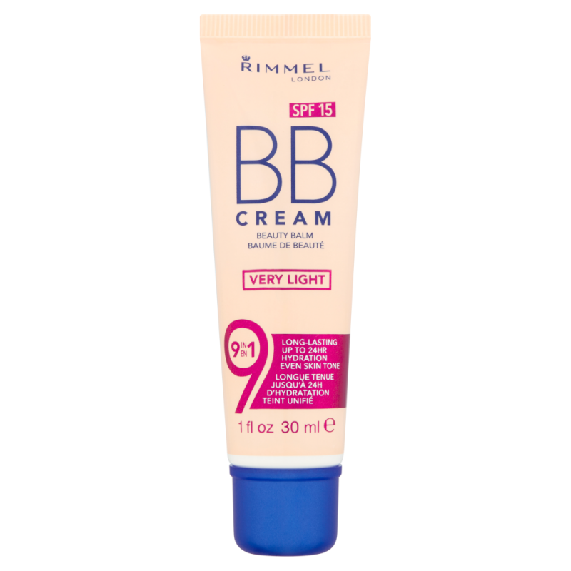 Rimmel Bb cream spf 15 very light