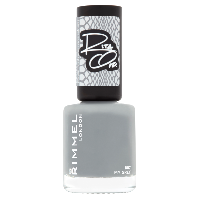 Rimmel 60 seconds super shine 807 my grey