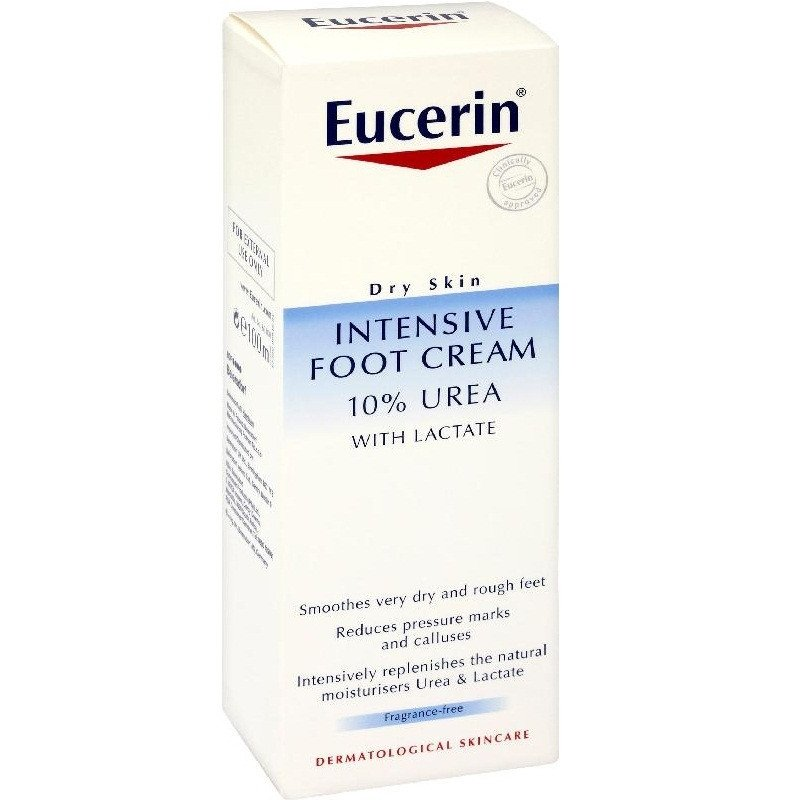 Eucerin dry skin with lactate intensive foot cream 10% 100ml