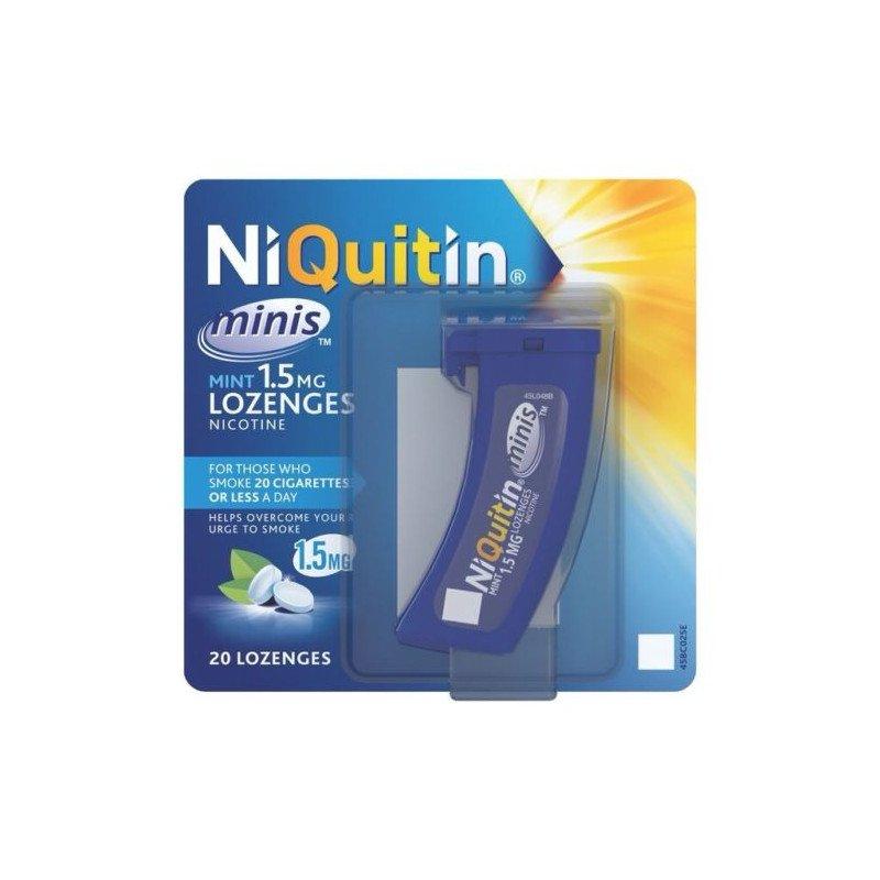 Niquitin lozenges mini mint 1.5mg 20 pack