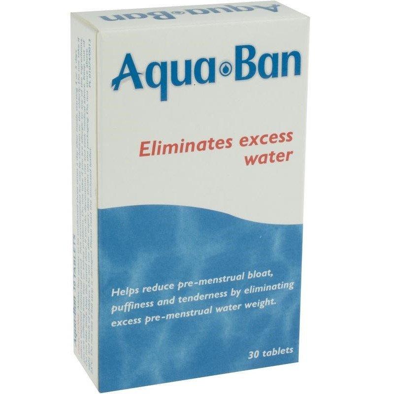 Aquaban diuretic tablets 30 pack