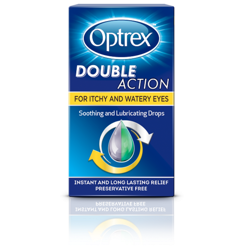 OPTREX eye drops double action for dry & tired eyes 10ml