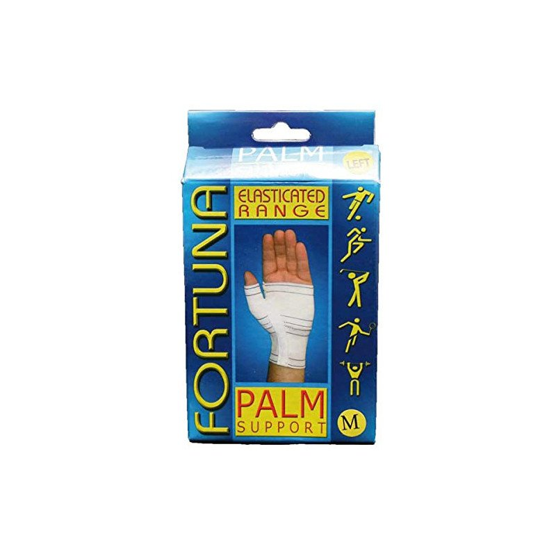 Fortuna Disabled Aids supports elasticated supports palm support left medium