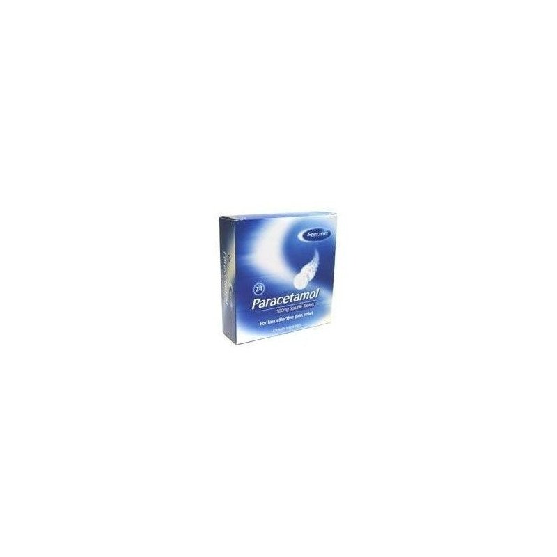 Paracetamol soluble tablets 500mg 16
