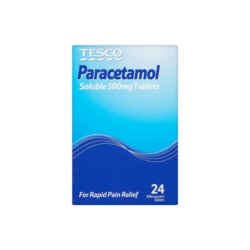 Paracetamol soluble tablets 500mg 24