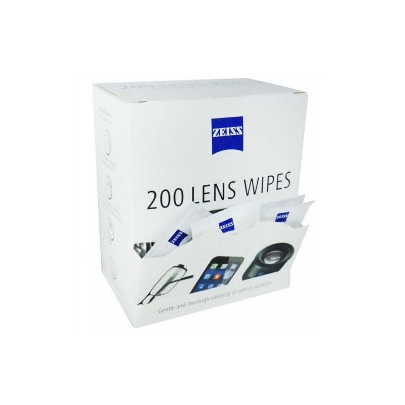Zeiss PRE Moistened Lens Cloths Wipes