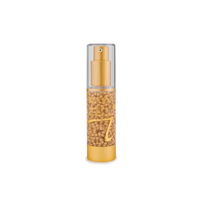 Jane Iredale LIQUID MINERALS A FOUNDATION – Latte