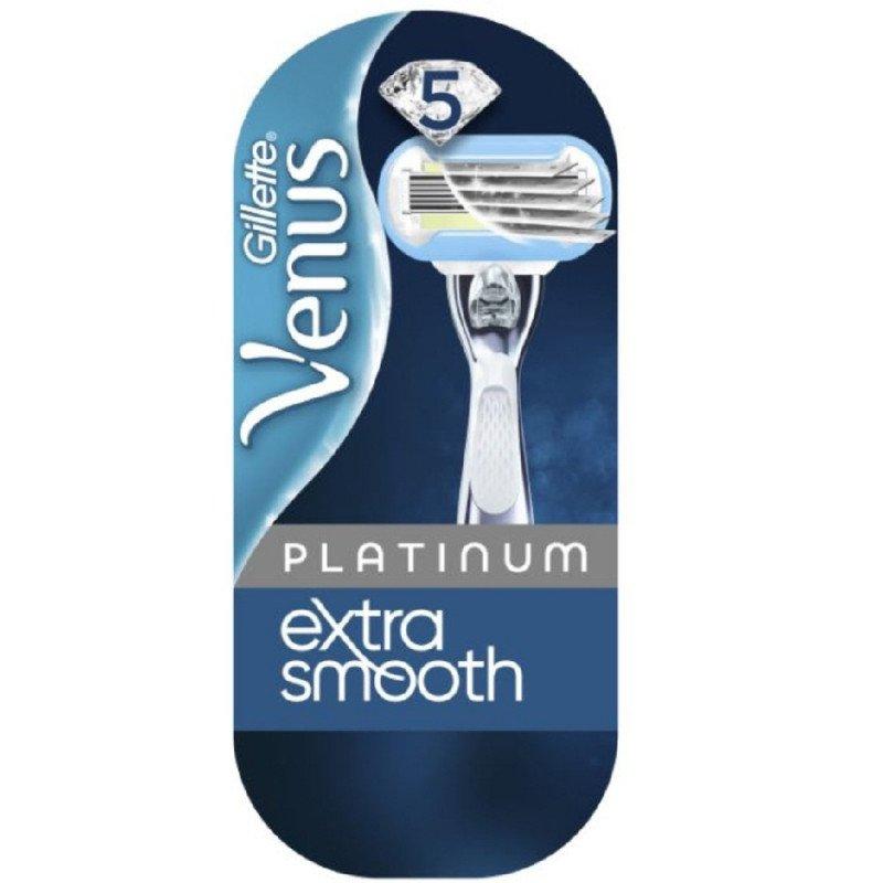 GILLETTE razors, blades & trimmers Venus extra smooth platinum