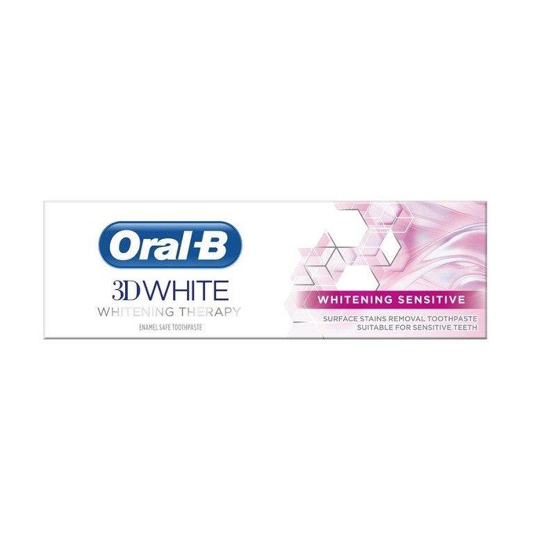ORAL-B toothpaste 3D white whitening therapy sensitive 75ml