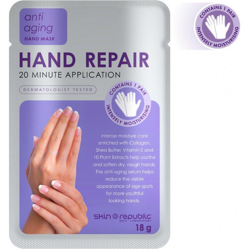 Skin Republic Hand Repair 18G (10 Pk)
