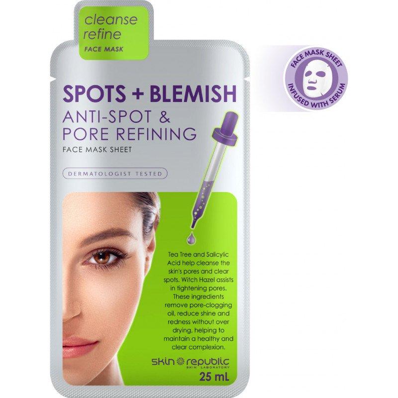 Skin Republic Face Mask Spots & Blem 25Ml