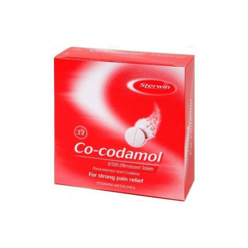 Co-codamol effervescent tablets 8/500mg 32