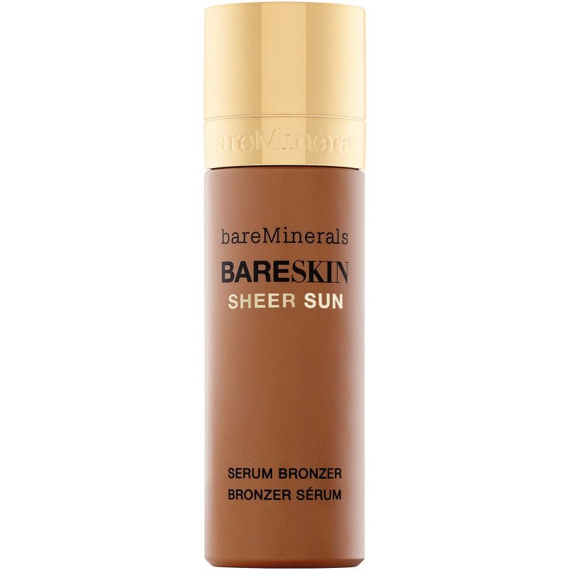bareMinerals Brightening Serum Foundation Bareskin Sheer Sun Serum Bronzer