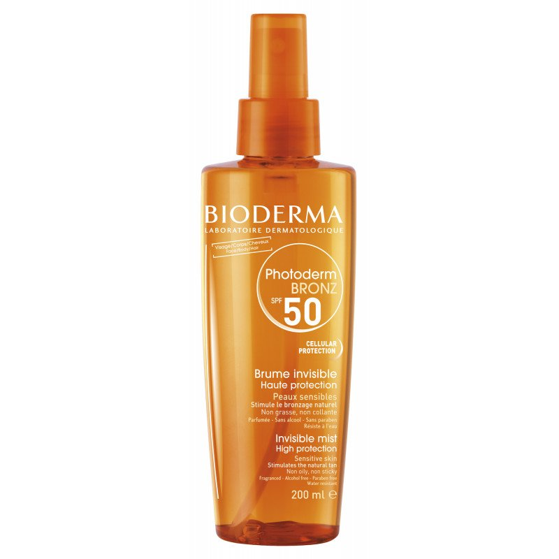 BioDerma PHOTODERM BRONZ SPF50 Invisible sun mist 200ml