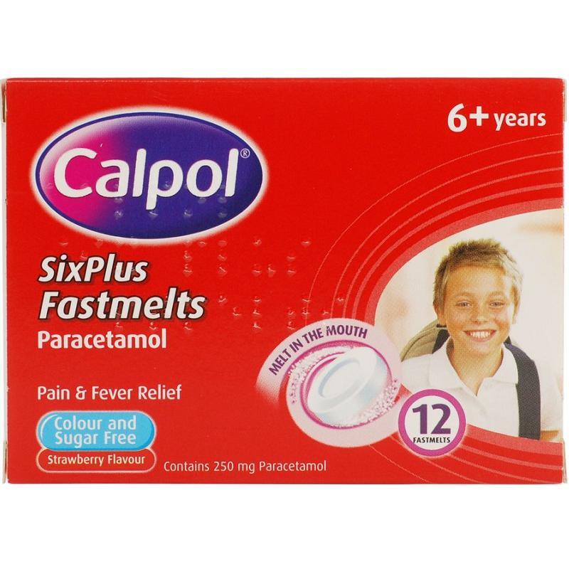 CALPOL FASTMELTS 6+ 250MG 12