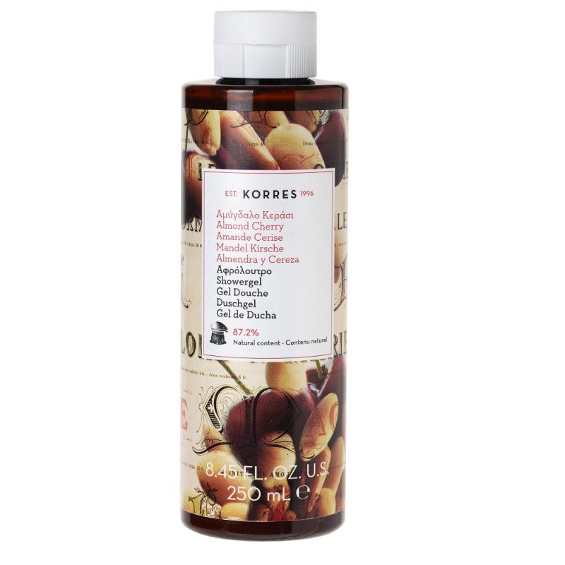 Korres Cherry Almond Shower Gel 250ml