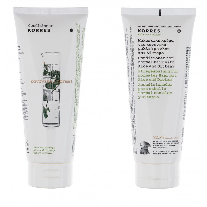 Korres Conditioner Aloe and Dittany_for normal hair_200ml