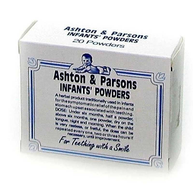 Ashton & Parsons infants powders Tincture of matricaria