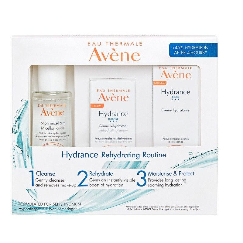 Avene Eau Thermal Hydrance Rehydrating Routine