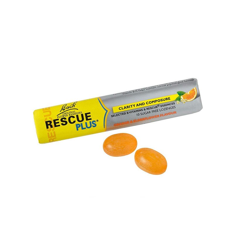Bach Rescue Plus Vitamins Lozenges