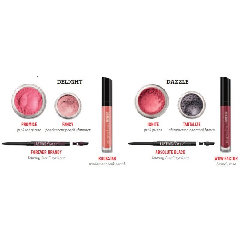 bareMinerals Delight & Dazzle 8-Piece Day & Night Break-Apart Collection