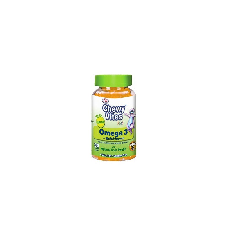 Chewy vites kids omega 3 & multivitamin 30 pack