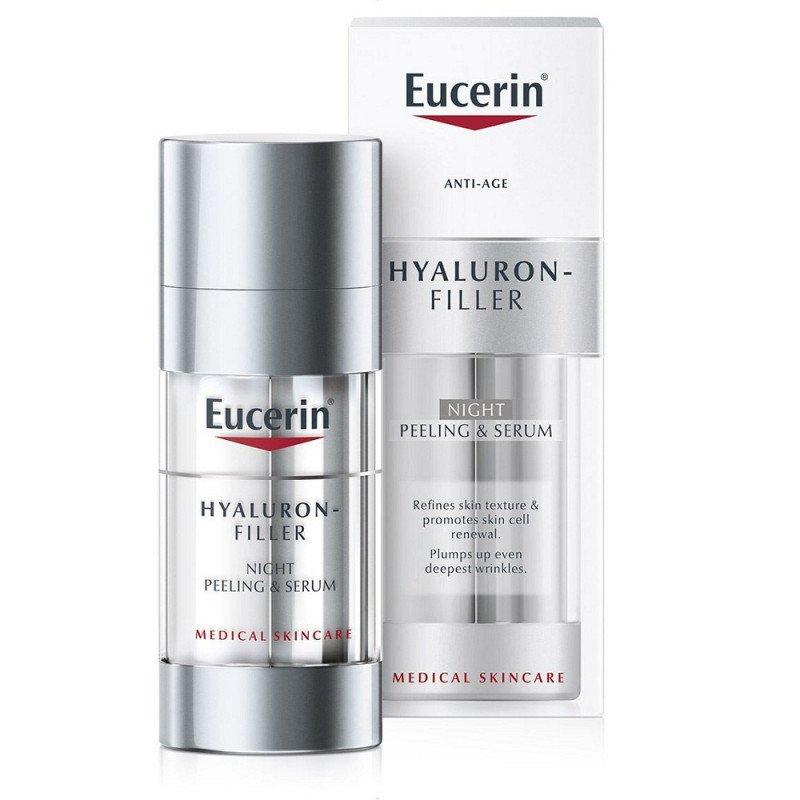 Eucerin Hyaluron-Filler Night Peeling & Serum 30ml